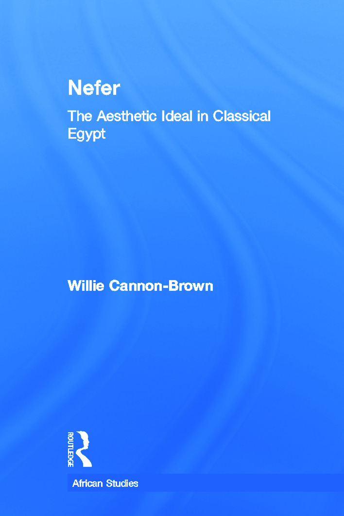 Nefer: The Aesthetic Ideal in Classical Egypt (Paperback) book cover