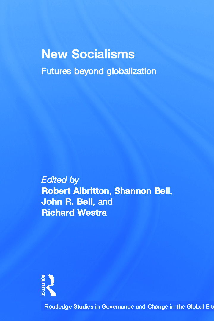 New Socialisms: Futures Beyond Globalization book cover