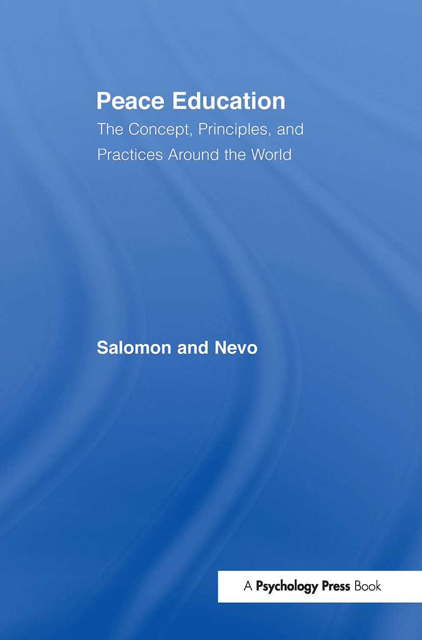 Peace Education: The Concept, Principles, and Practices Around the World (Paperback) book cover