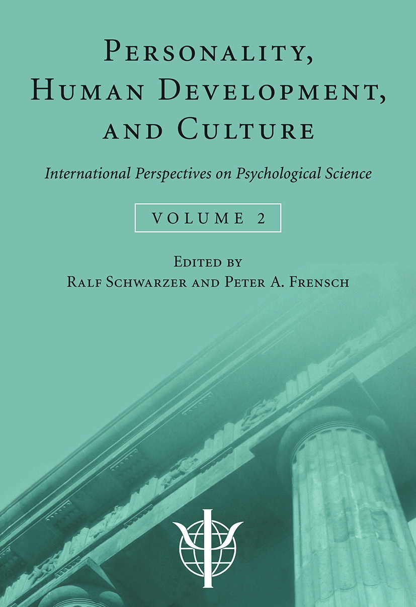 Personality, Human Development, and Culture: International Perspectives On Psychological Science (Volume 2) (Paperback) book cover
