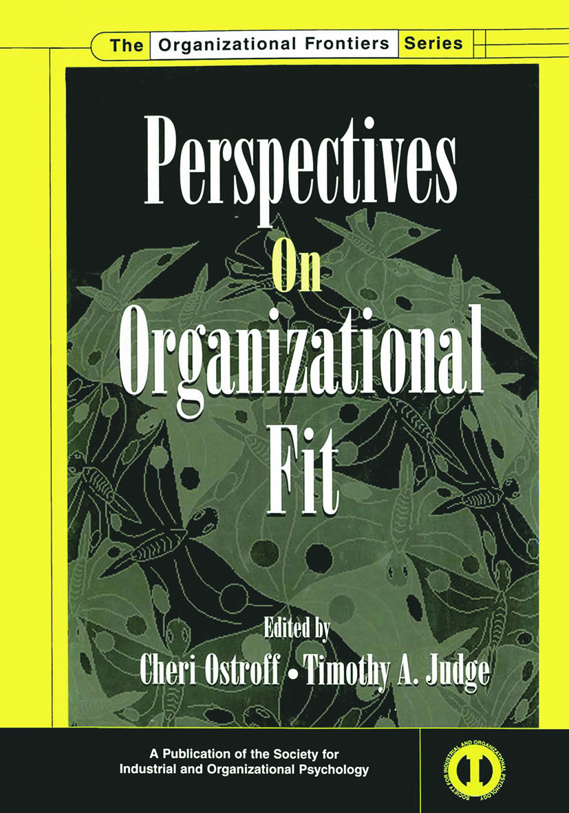 Perspectives on Organizational Fit: 1st Edition (Paperback) book cover