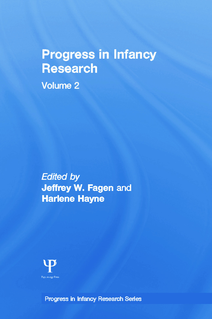 Progress in infancy Research: Volume 2 book cover