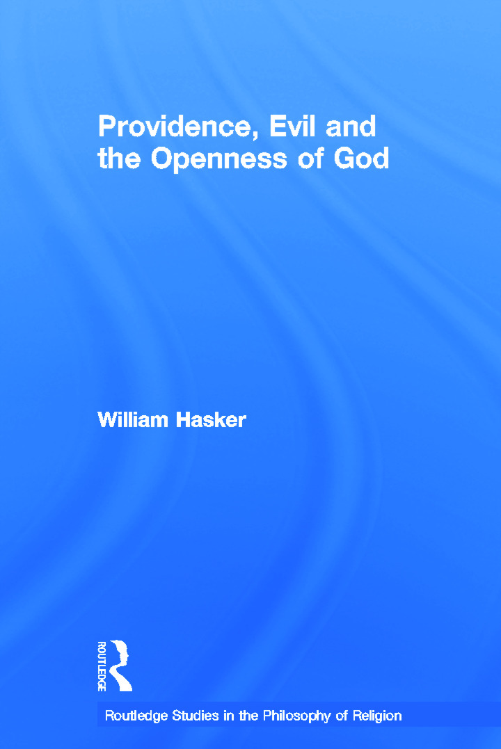 Providence, Evil and the Openness of God book cover