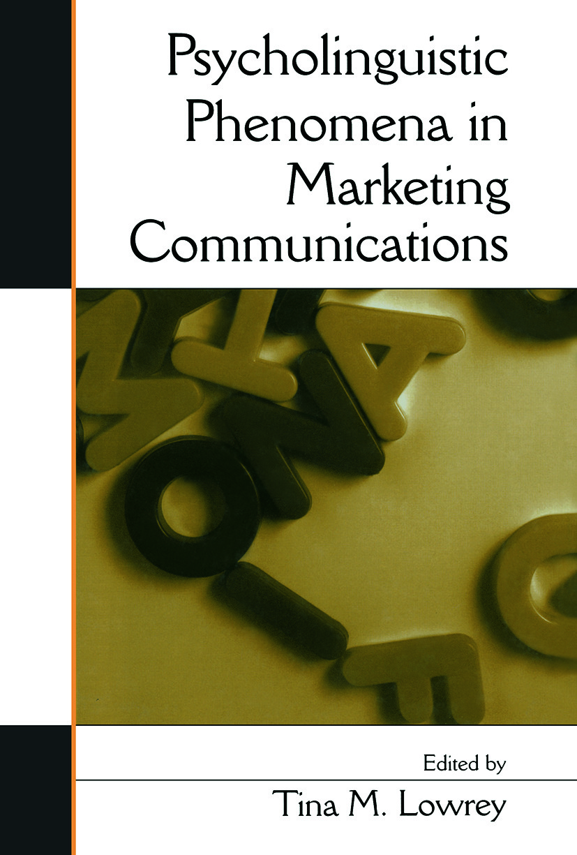 Psycholinguistic Phenomena in Marketing Communications (Paperback) book cover