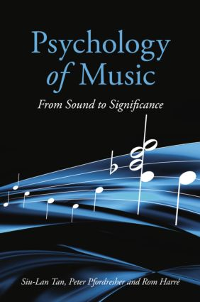 Psychology of Music: From Sound to Significance (Paperback) book cover