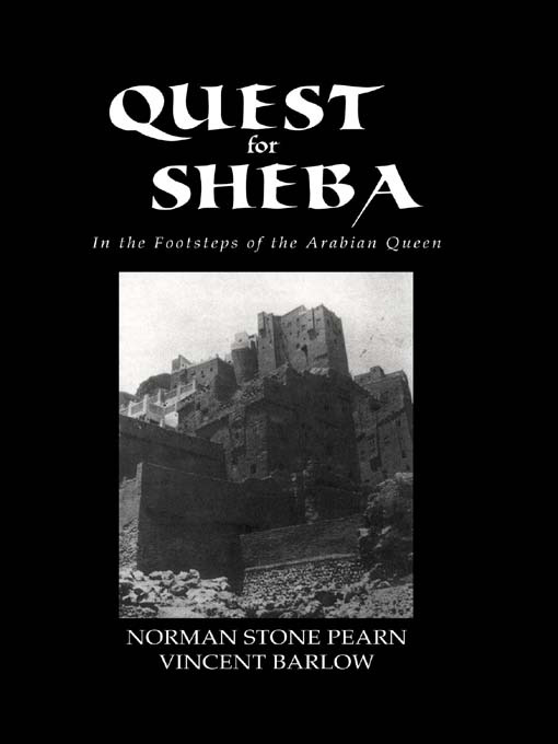 Quest For Sheba: 1st Edition (Paperback) book cover
