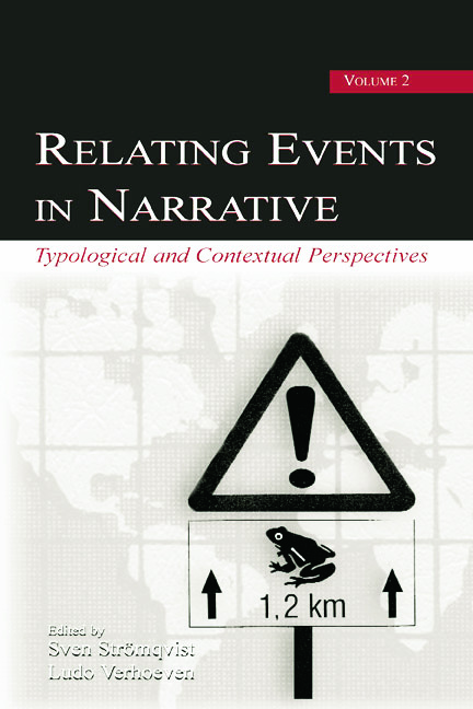 Relating Events in Narrative, Volume 2: Typological and Contextual Perspectives, 1st Edition (Paperback) book cover
