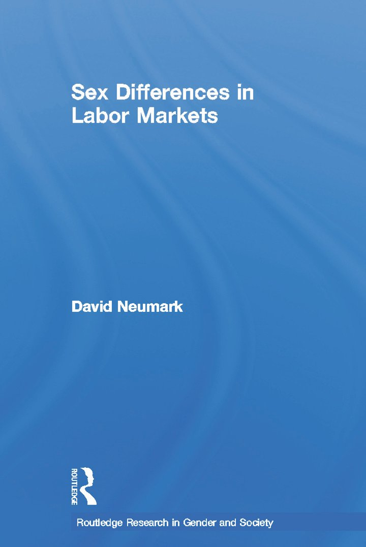 Sex Differences in Labor Markets (Paperback) book cover