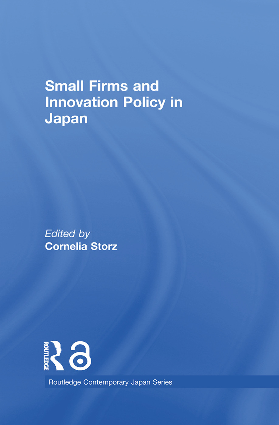 Small Firms and Innovation Policy in Japan: 1st Edition (Paperback) book cover
