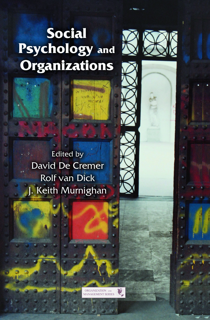 Social Psychology and Organizations book cover