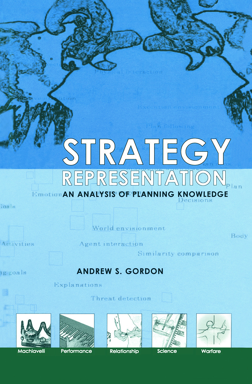 Strategy Representation: An Analysis of Planning Knowledge (Paperback) book cover