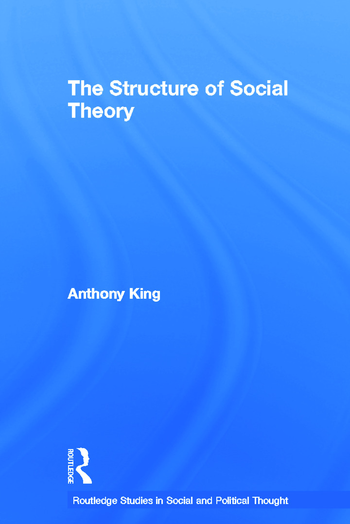 The Structure of Social Theory (Paperback) book cover