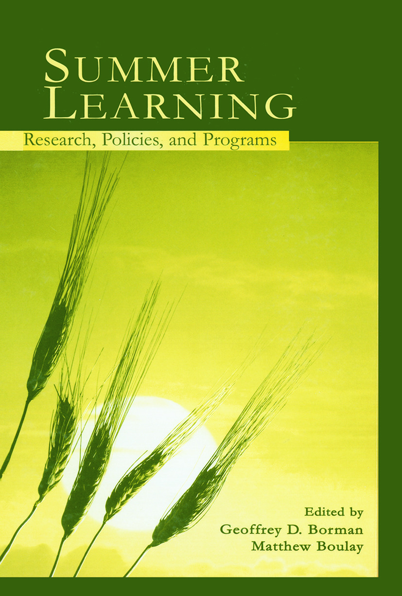 Summer Learning: Research, Policies, and Programs (Paperback) book cover
