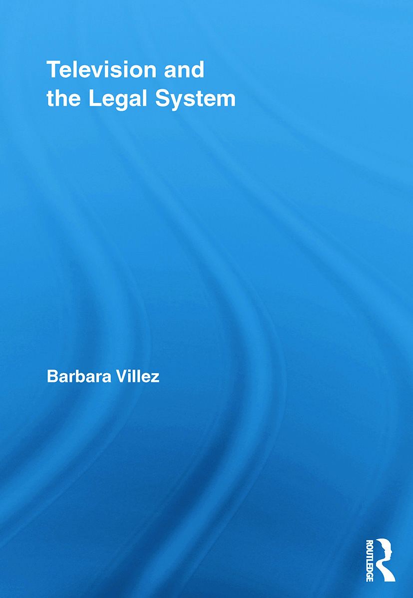 Television and the Legal System (Paperback) book cover