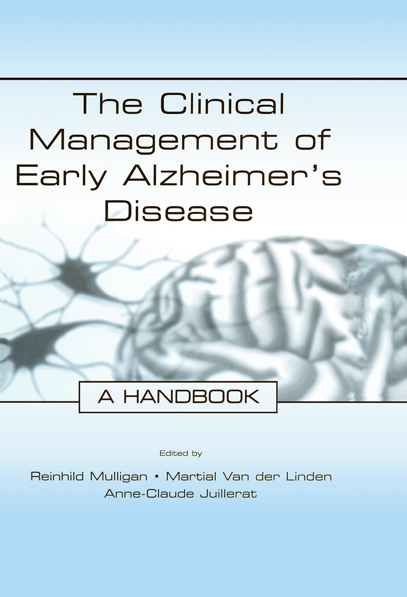 The Clinical Management of Early Alzheimer's Disease: A Handbook (Paperback) book cover