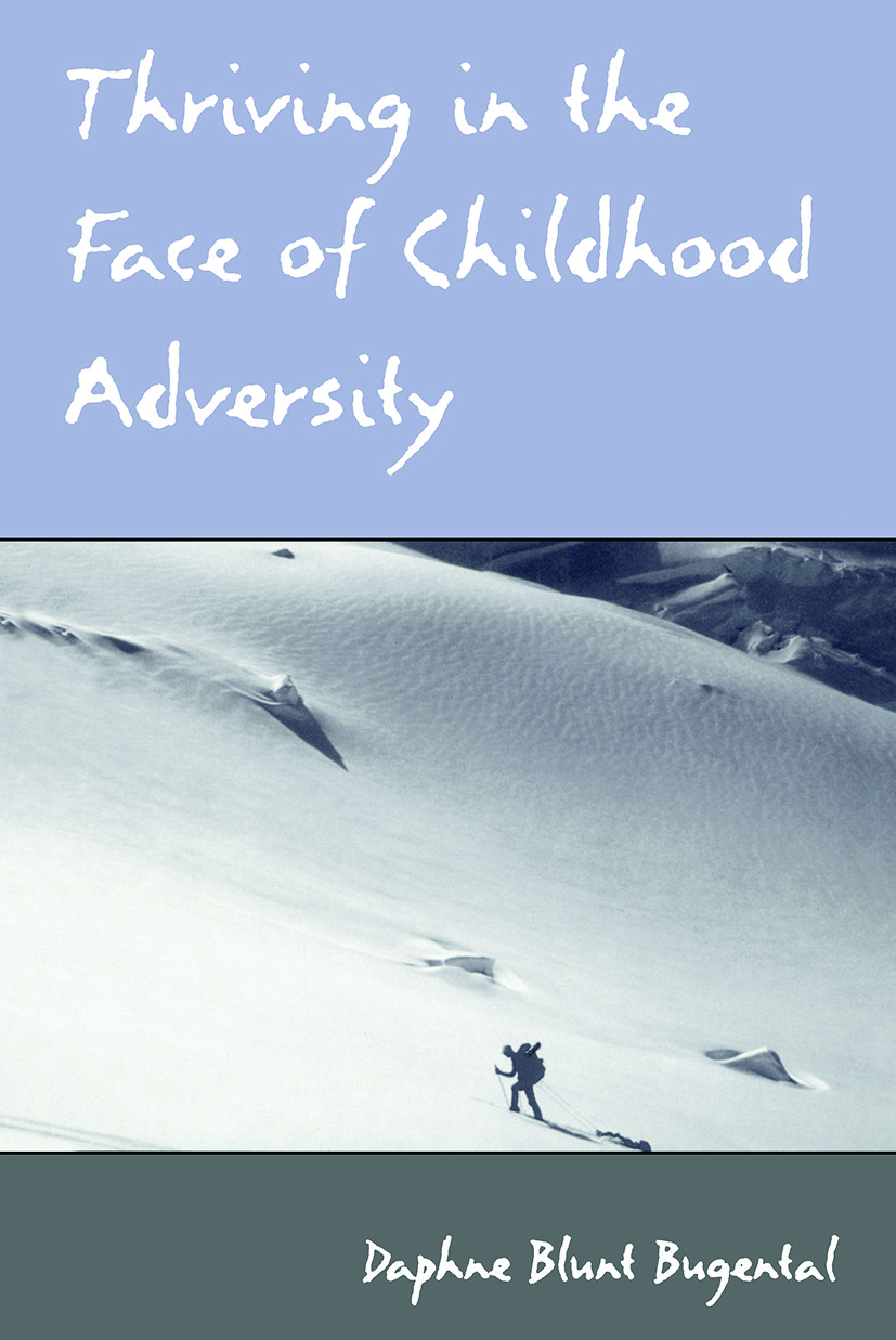 Thriving in the Face of Childhood Adversity (Paperback) book cover