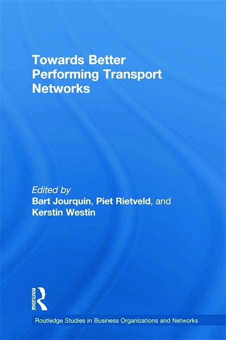 Towards better Performing Transport Networks (Paperback) book cover