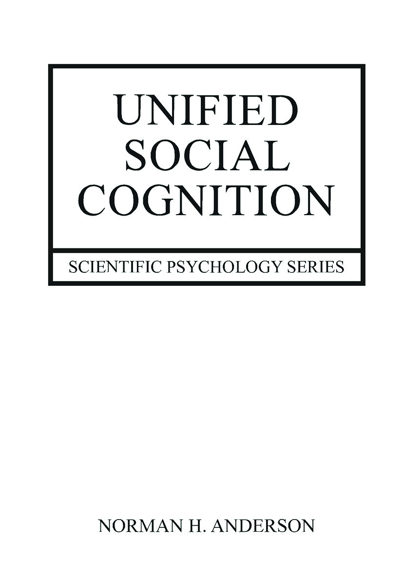 Unified Social Cognition (Paperback) book cover