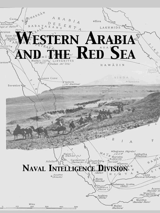 Western Arabia & The Red Sea: 1st Edition (Paperback) book cover