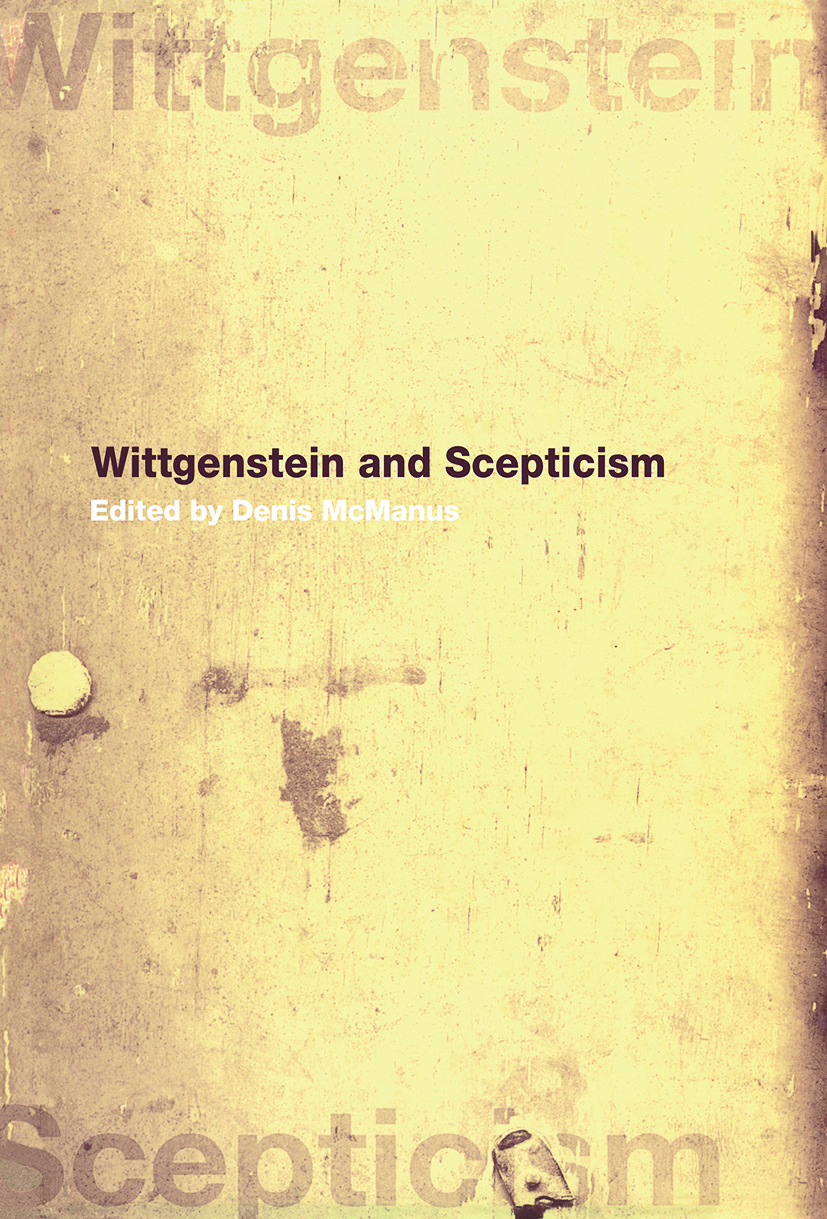 Wittgenstein and Scepticism (Paperback) book cover