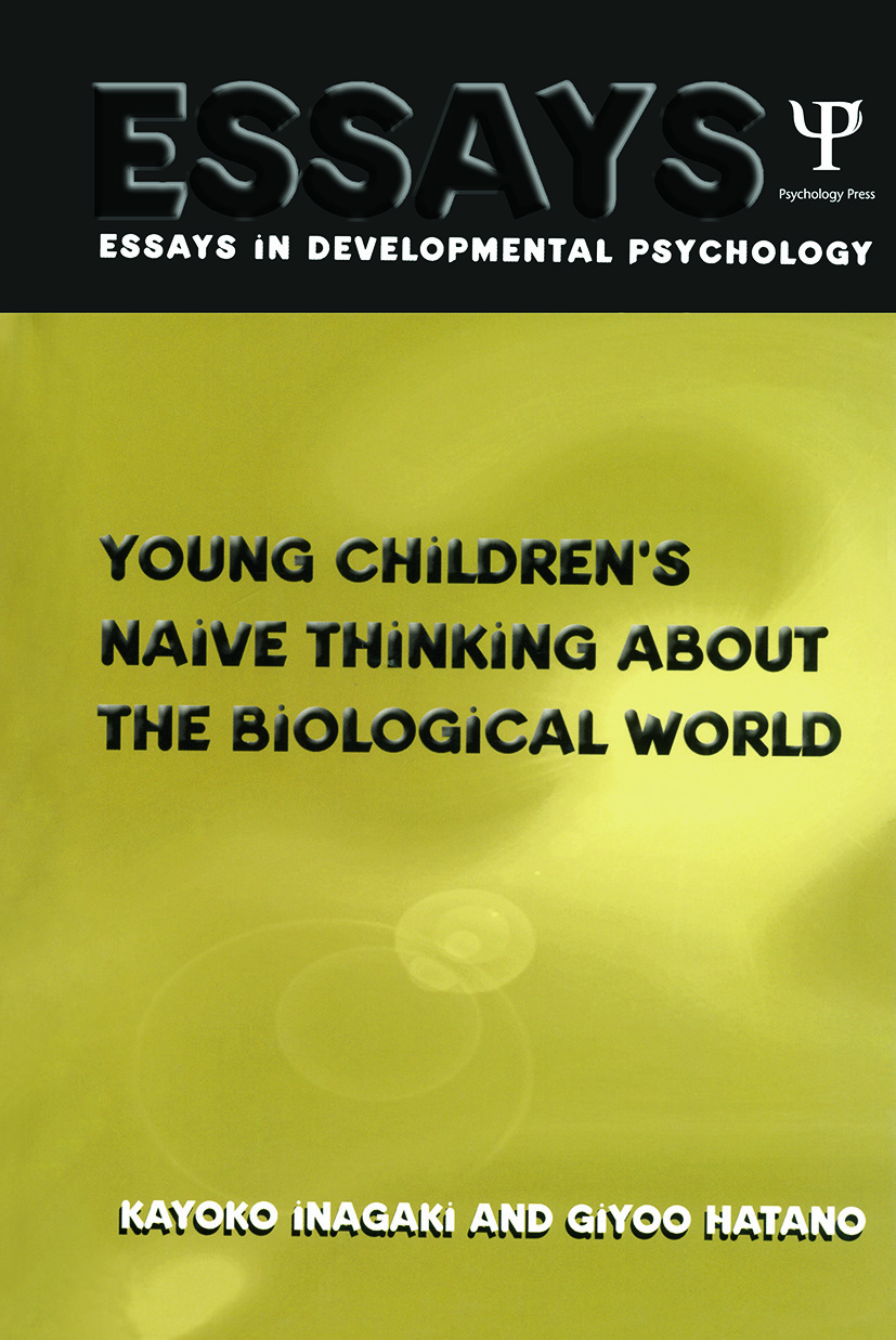 Young Children's Thinking about Biological World (Paperback) book cover