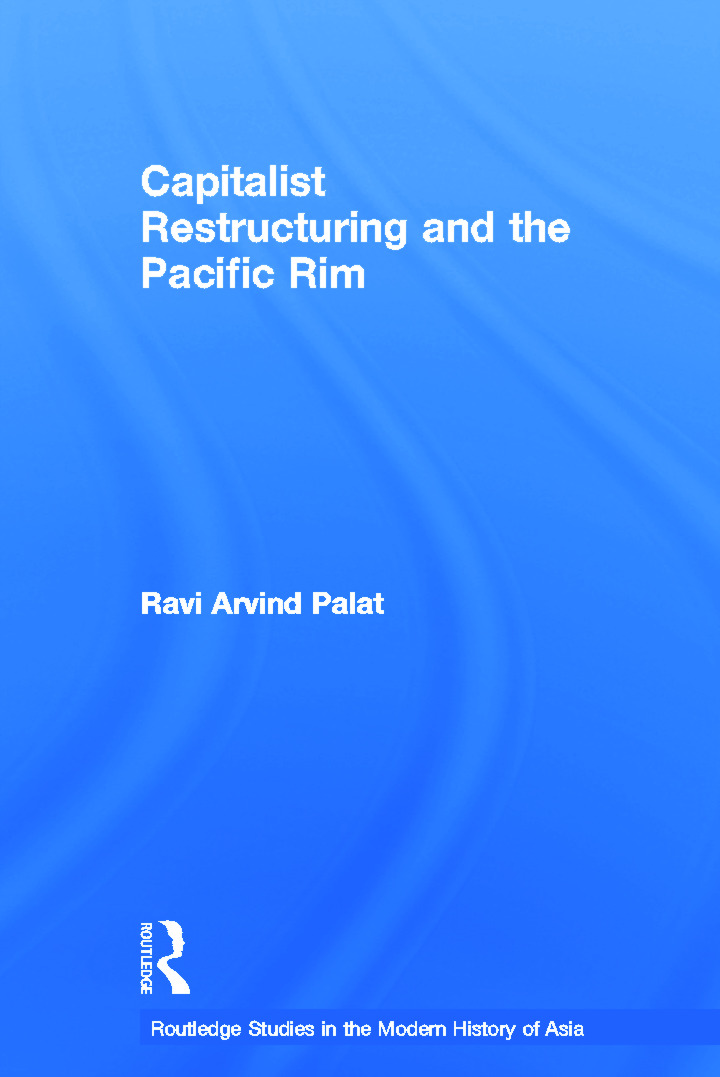 Capitalist Restructuring and the Pacific Rim (Paperback) book cover