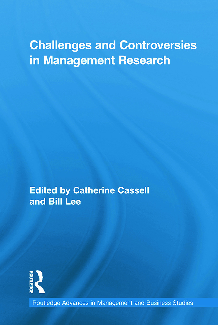 Challenges and Controversies in Management Research (Paperback) book cover