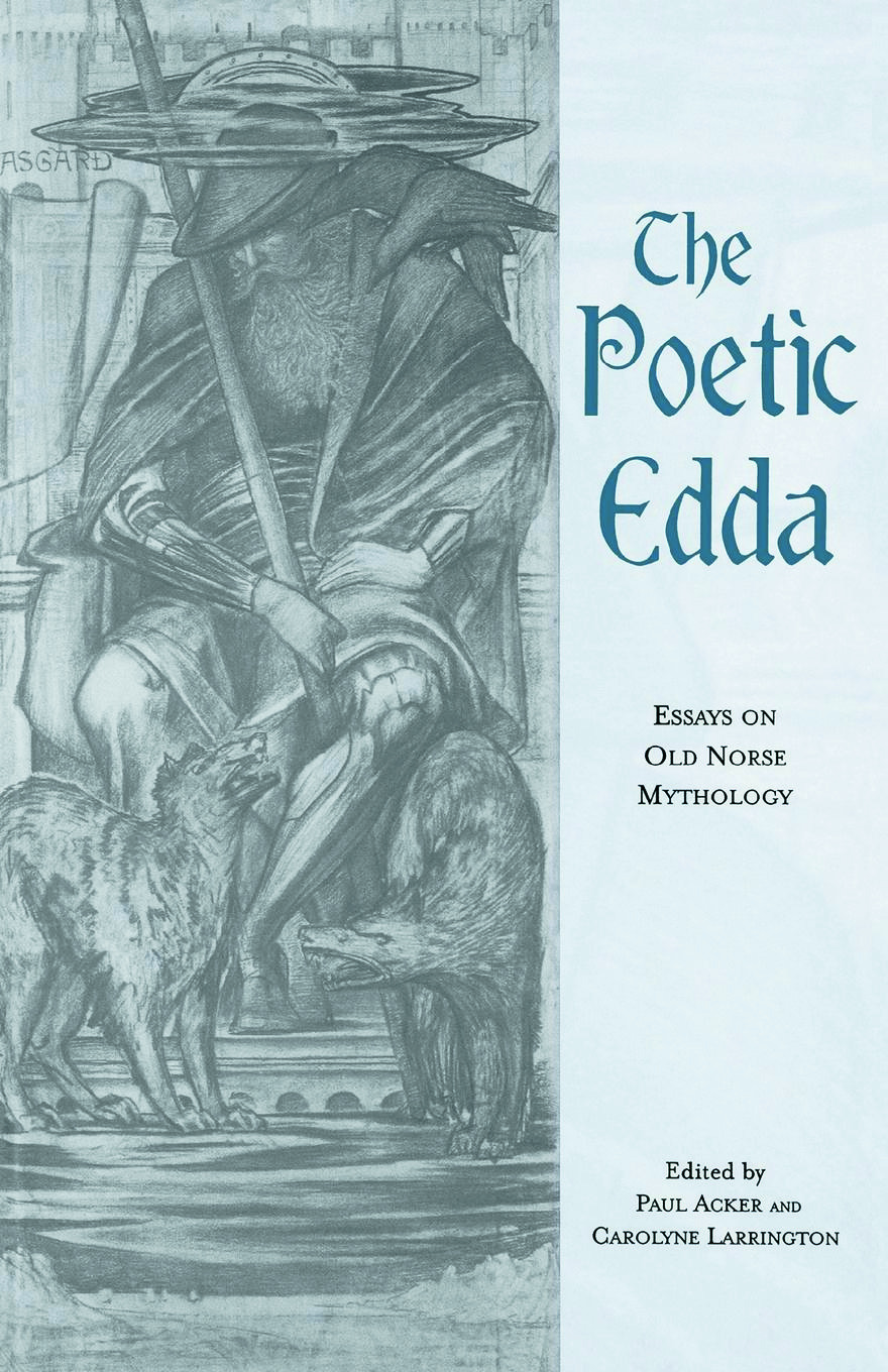The Poetic Edda: Essays on Old Norse Mythology (Paperback) book cover