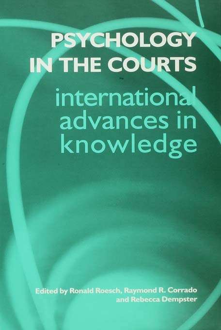 Psychology in the Courts (Paperback) book cover
