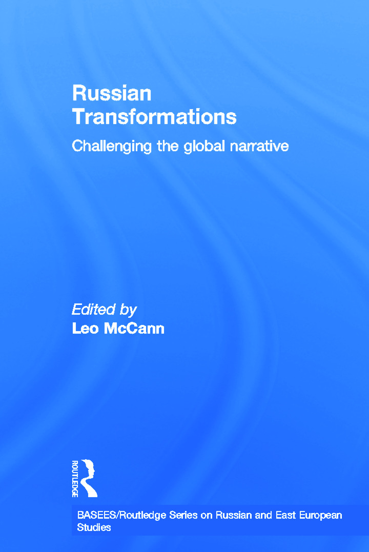 Russian Transformations: Challenging the Global Narrative (Paperback) book cover
