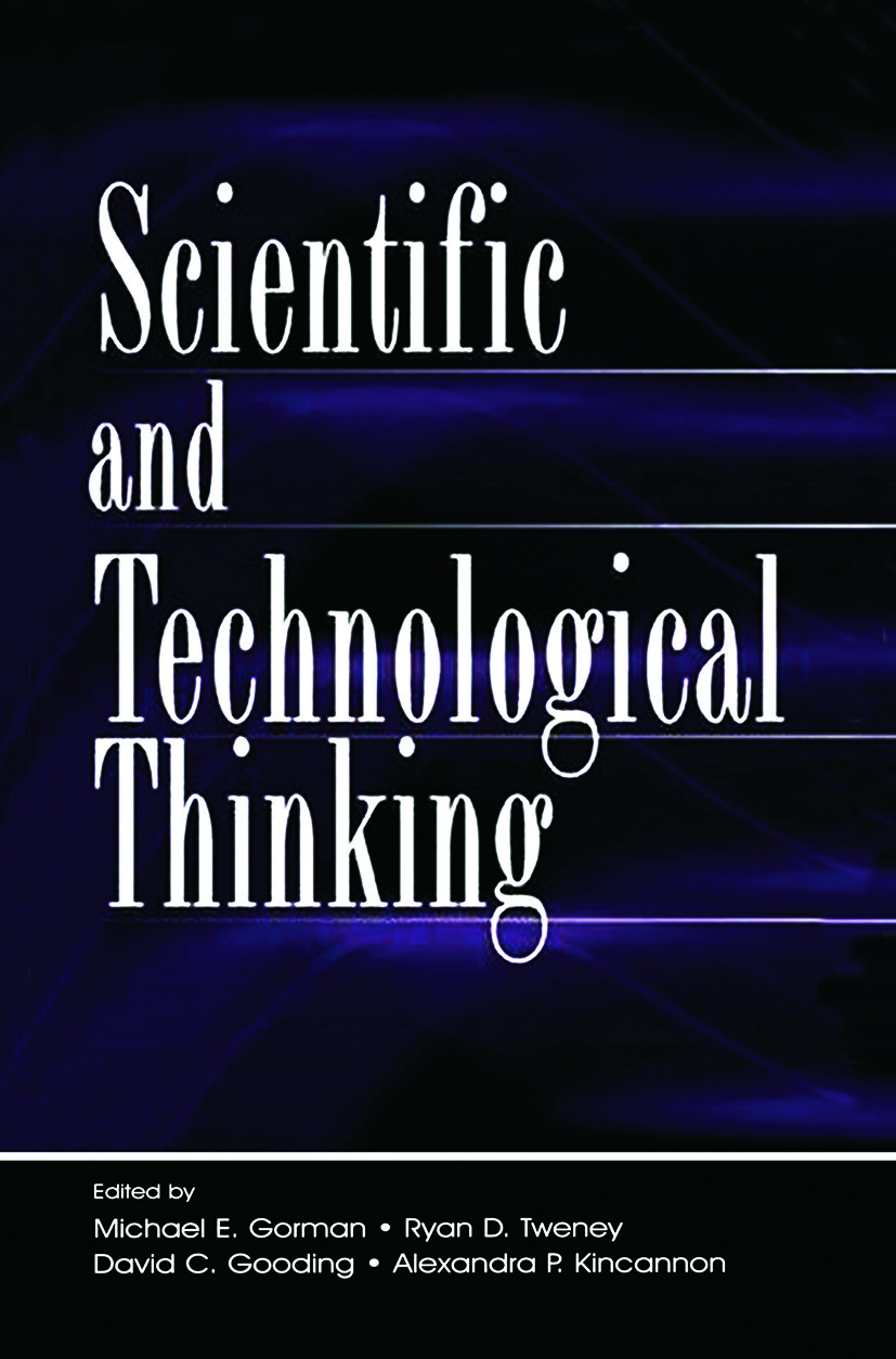 Scientific and Technological Thinking: 1st Edition (Paperback) book cover