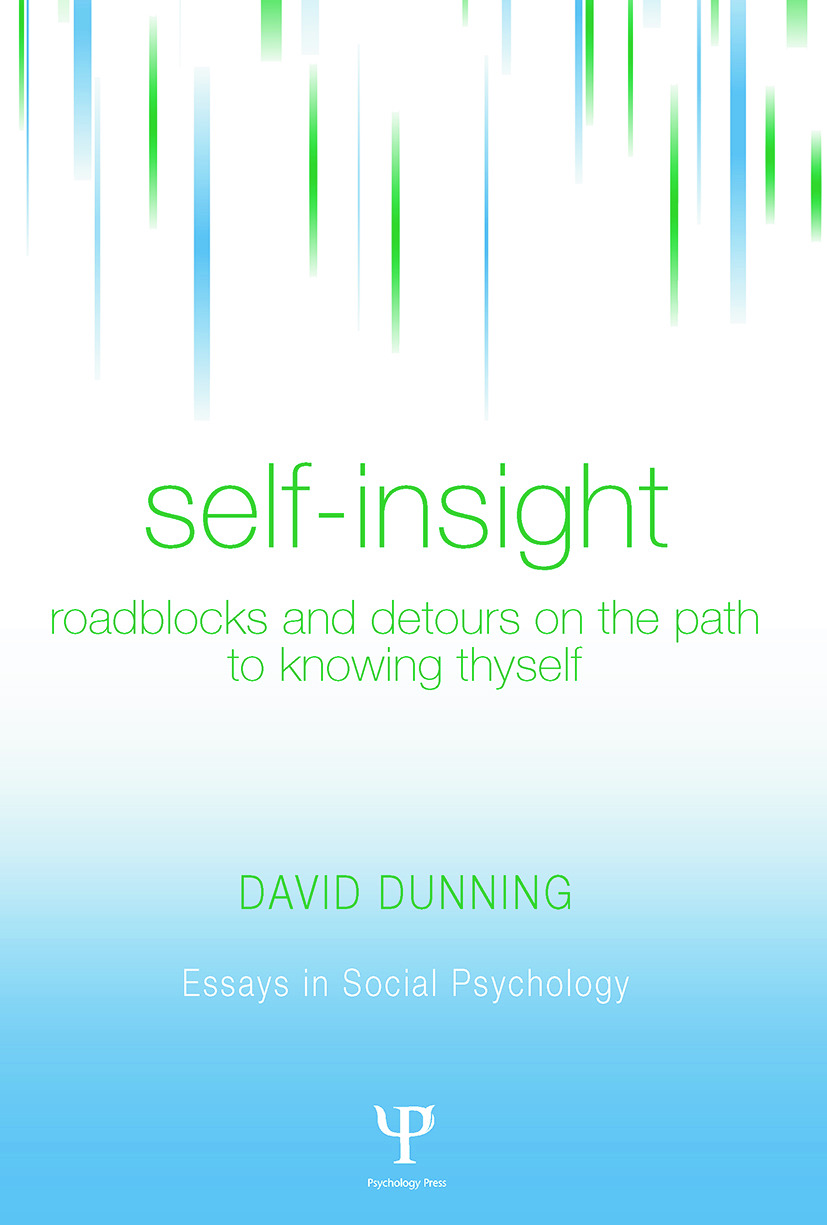 Self-Insight: Roadblocks and Detours on the Path to Knowing Thyself (Paperback) book cover