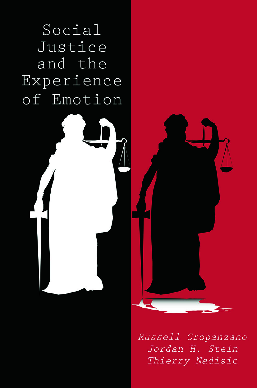Social Justice and the Experience of Emotion: 1st Edition (Paperback) book cover