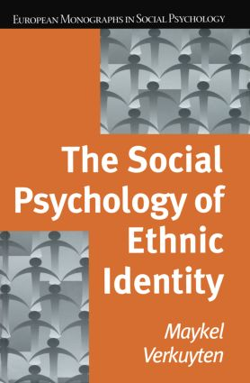 The Social Psychology of Ethnic Identity: 1st Edition (Paperback) book cover