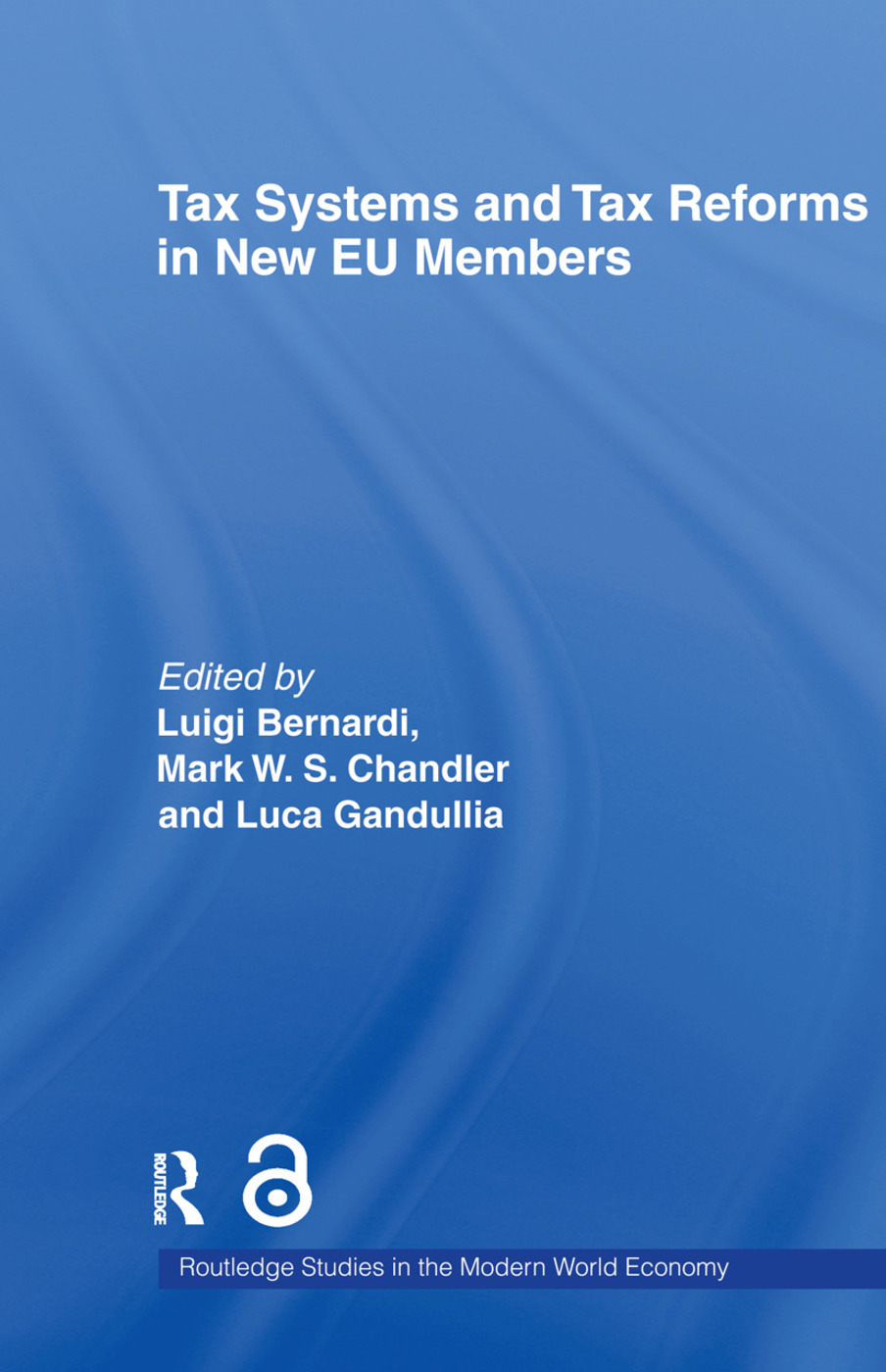 Tax Systems and Tax Reforms in New EU Member States (Paperback) book cover