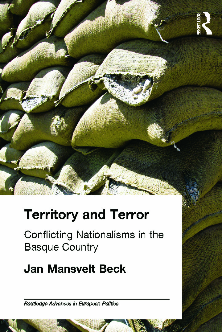 Territory and Terror: Conflicting Nationalisms in the Basque Country (Paperback) book cover