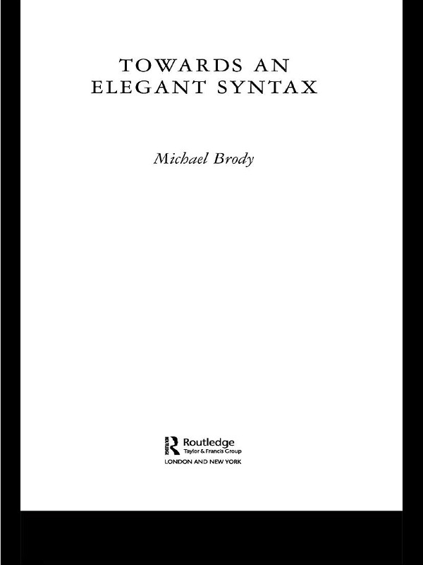 Towards an Elegant Syntax
