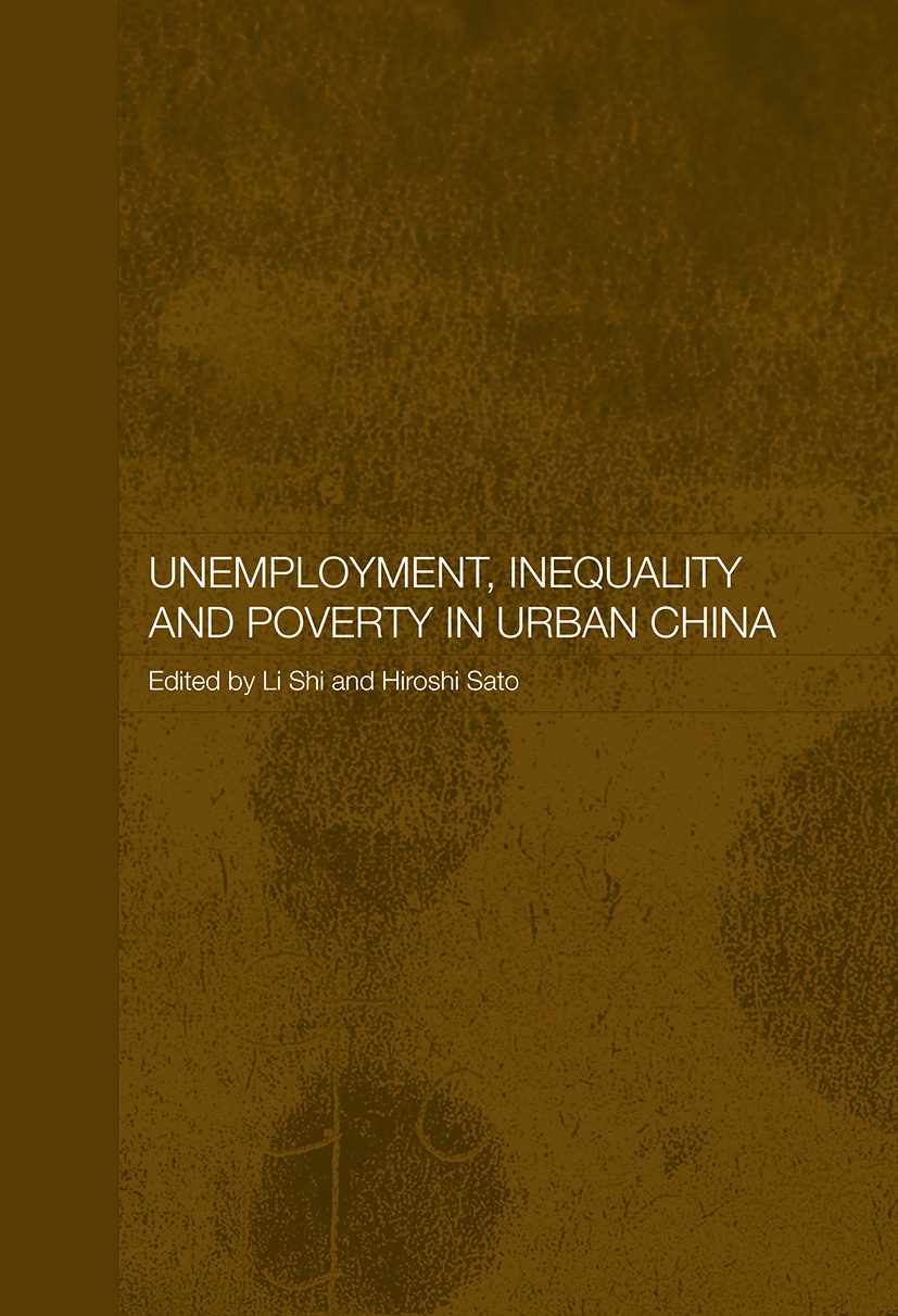 Unemployment, Inequality and Poverty in Urban China (Paperback) book cover