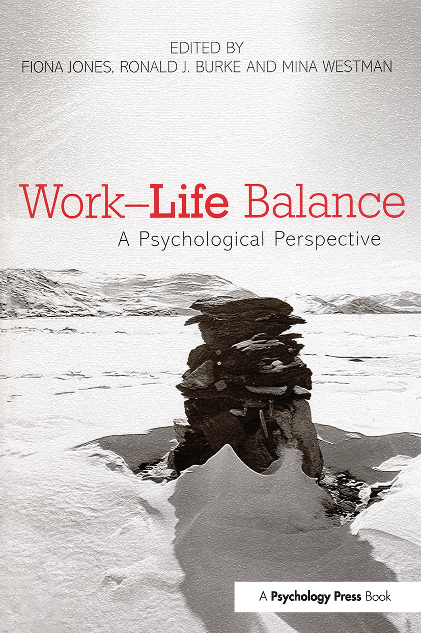 Work-Life Balance: A Psychological Perspective (Paperback) book cover