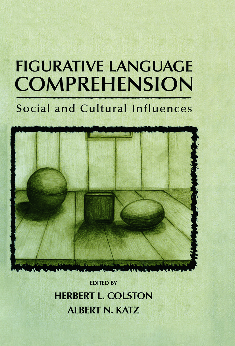 Figurative Language Comprehension: Social and Cultural Influences (Paperback) book cover