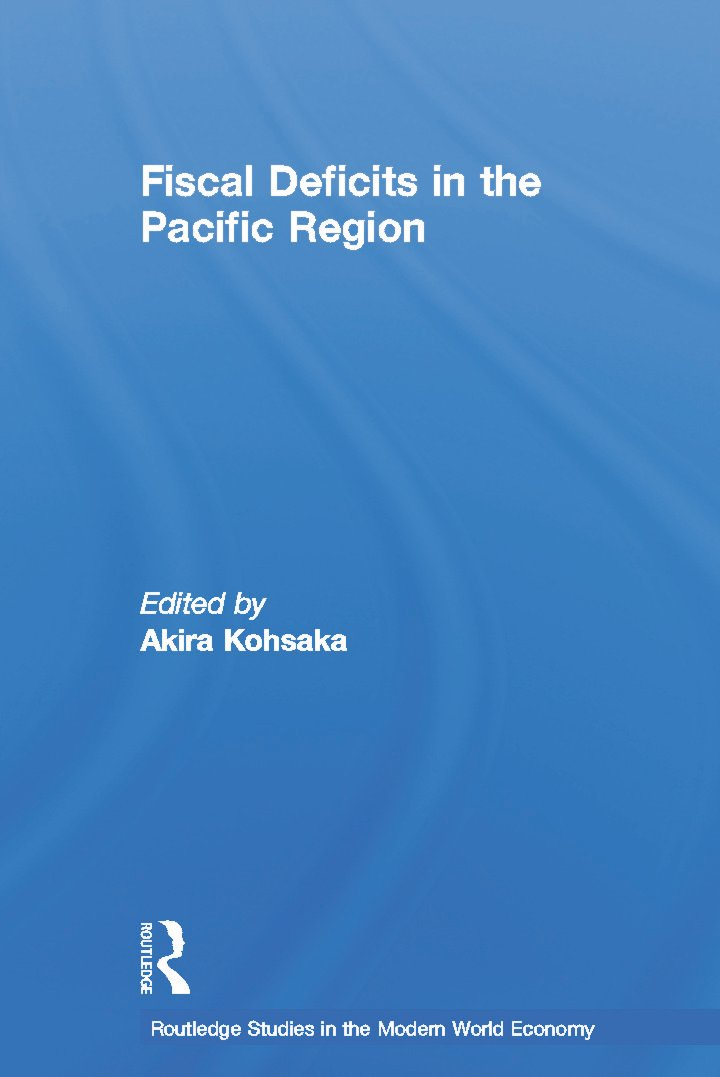 Fiscal Deficits in the Pacific Region (Paperback) book cover