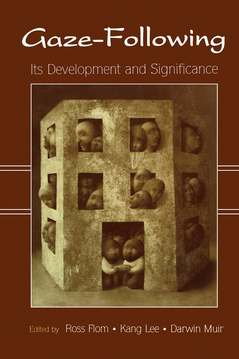 Gaze-Following: Its Development and Significance (Paperback) book cover