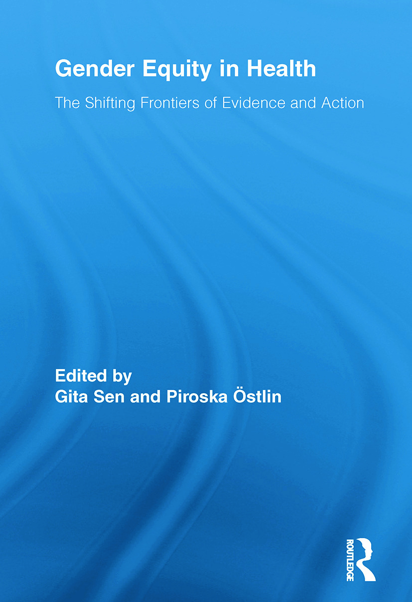 Gender Equity in Health: The Shifting Frontiers of Evidence and Action, 1st Edition (Paperback) book cover