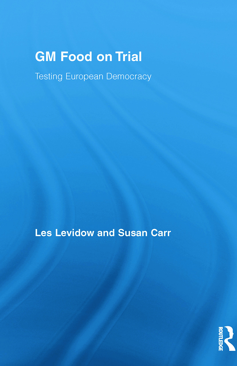GM Food on Trial: Testing European Democracy (Paperback) book cover