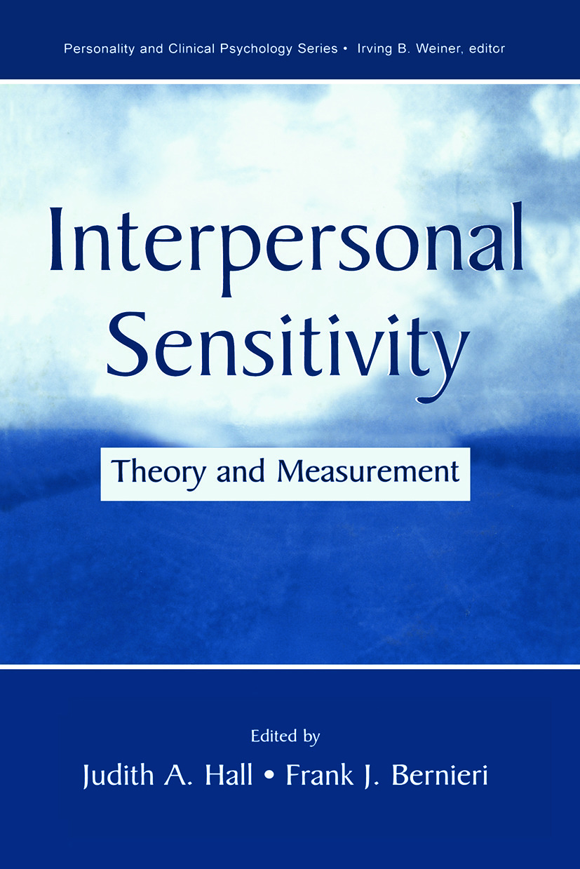 Interpersonal Sensitivity: Theory and Measurement (Paperback) book cover