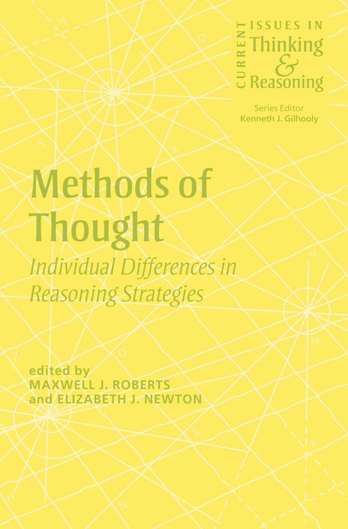 Methods of Thought: Individual Differences in Reasoning Strategies (Paperback) book cover