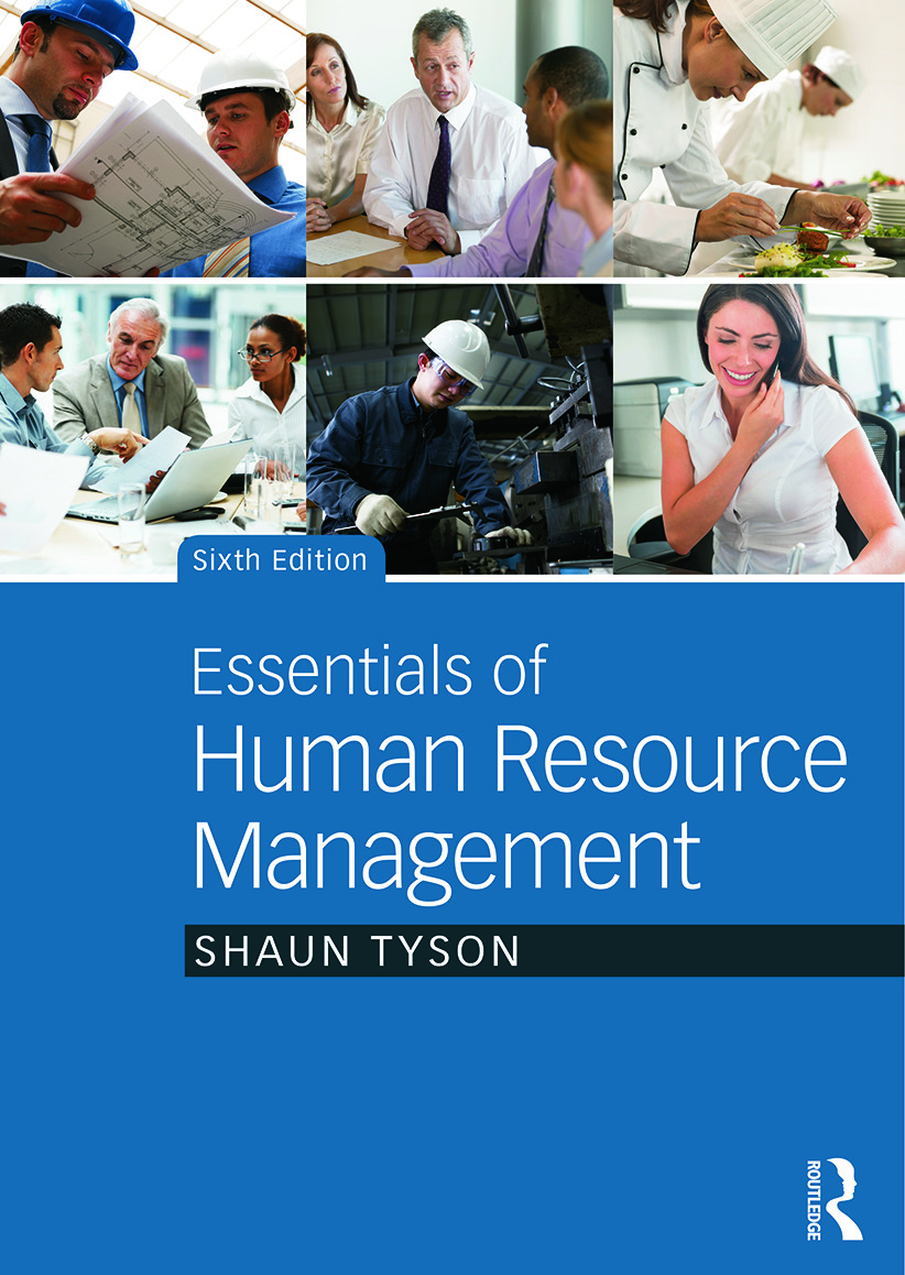 Essentials of Human Resource Management: 6th Edition (Paperback) book cover