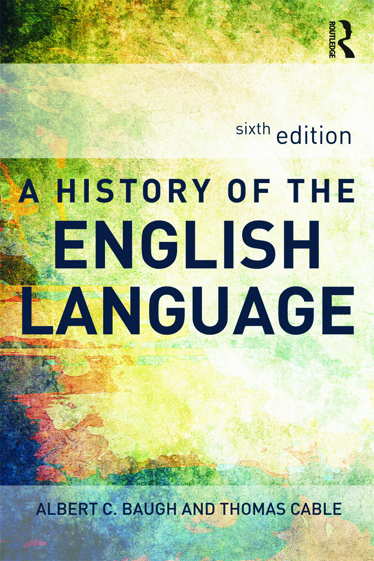 A History of the English Language: 6th Edition (Paperback) book cover