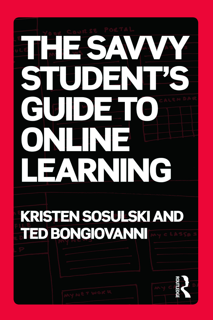 The Savvy Student's Guide to Online Learning (Paperback) book cover