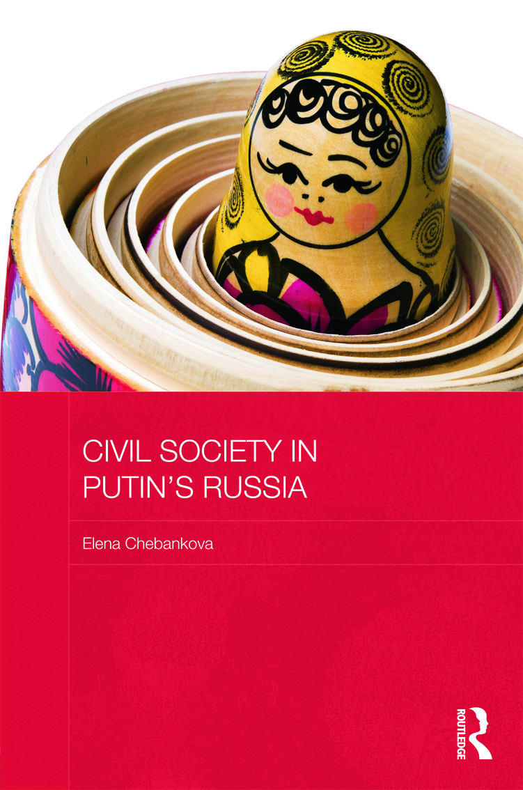 Civil Society in Putin's Russia (Hardback) book cover